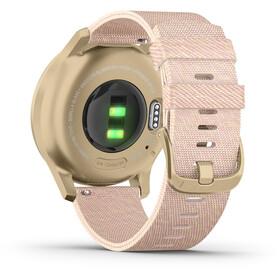 Garmin Vivomove Style Reloj Inteligente, rosa/Dorado